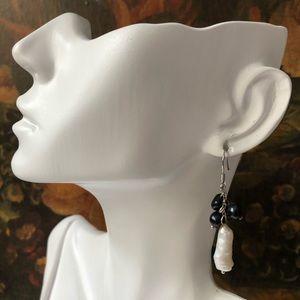 🔥 Freshwater Pearl Beaded Earrings
